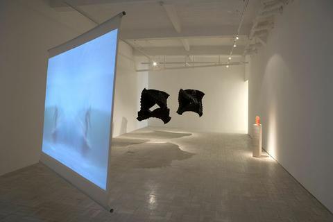 Paul Edmunds - installation weft