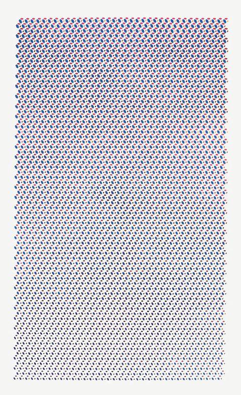 Sieve - silkscreen, paper