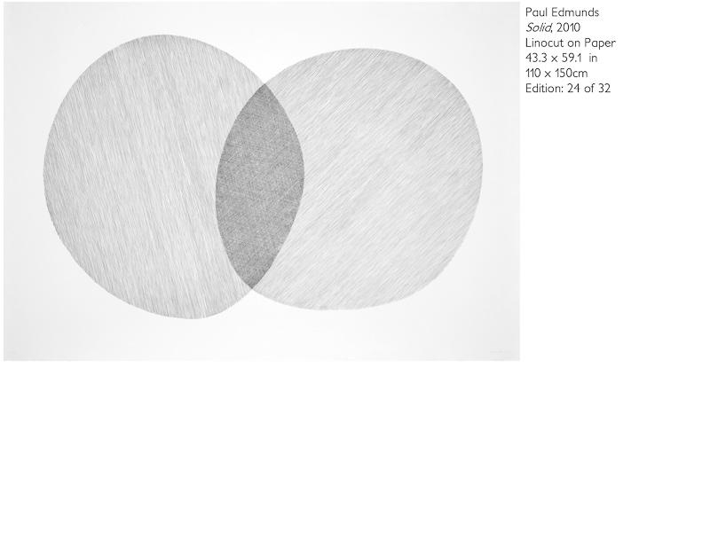 Solid, linocut 110 x 150cm