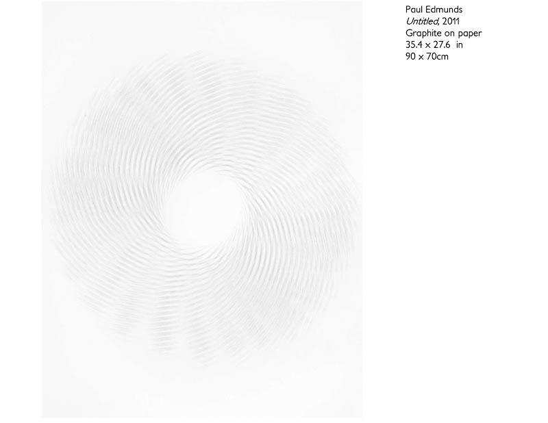 Untitled - Graphite on paper 90 x 70cm